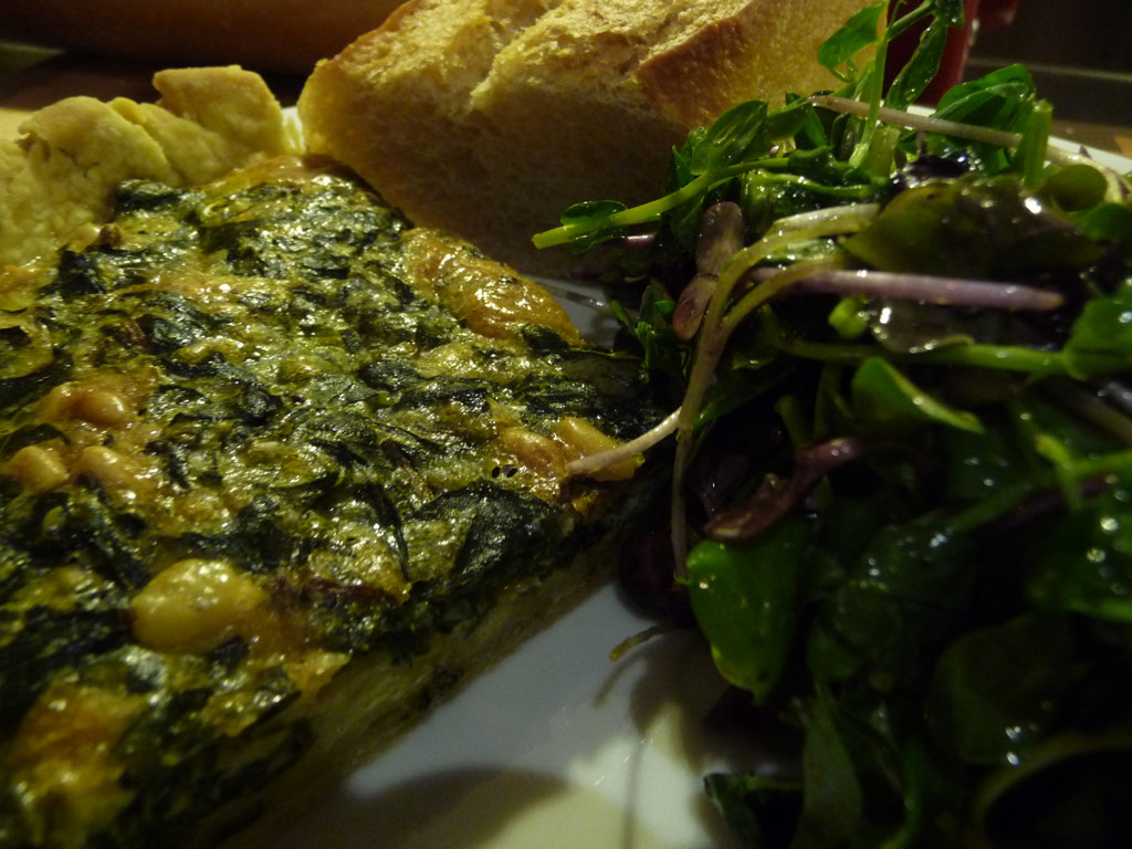 Savory Swiss Chard Tart