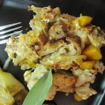Cheesy Butternut Squash Stuffing