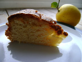 Pearl's Lemon Olive Oil cake