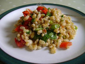 Barley &amp;  Sundried Tomato Salad 