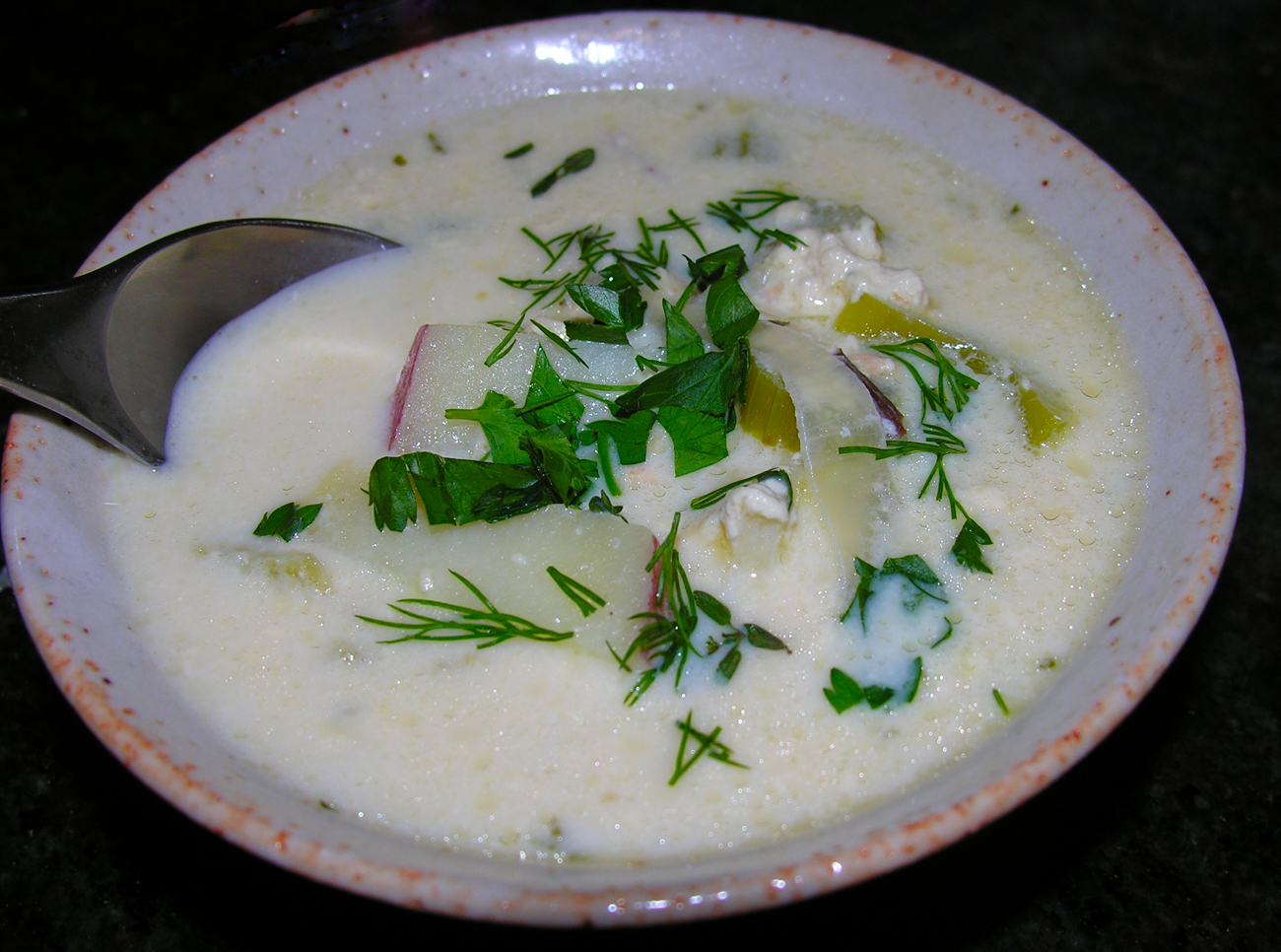 Fish Chowder Recipe On