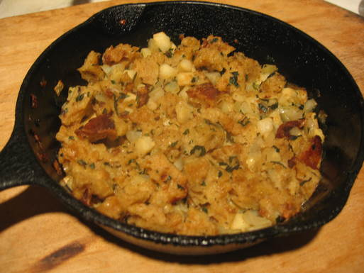 Skillet_apple_stuffing