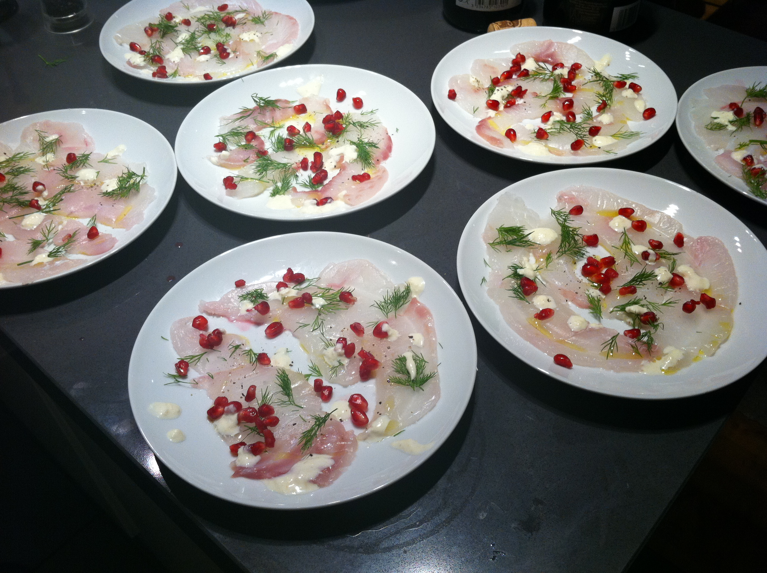 Christmas Carpaccio