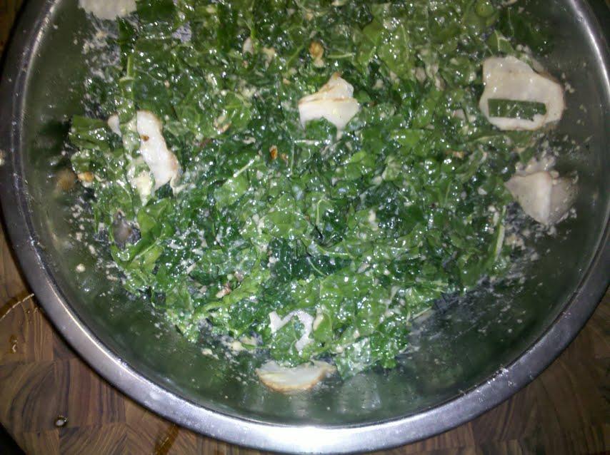 Kale Salad with Roasted Garlic-Horseradish Dressing recipe on Food52 ...
