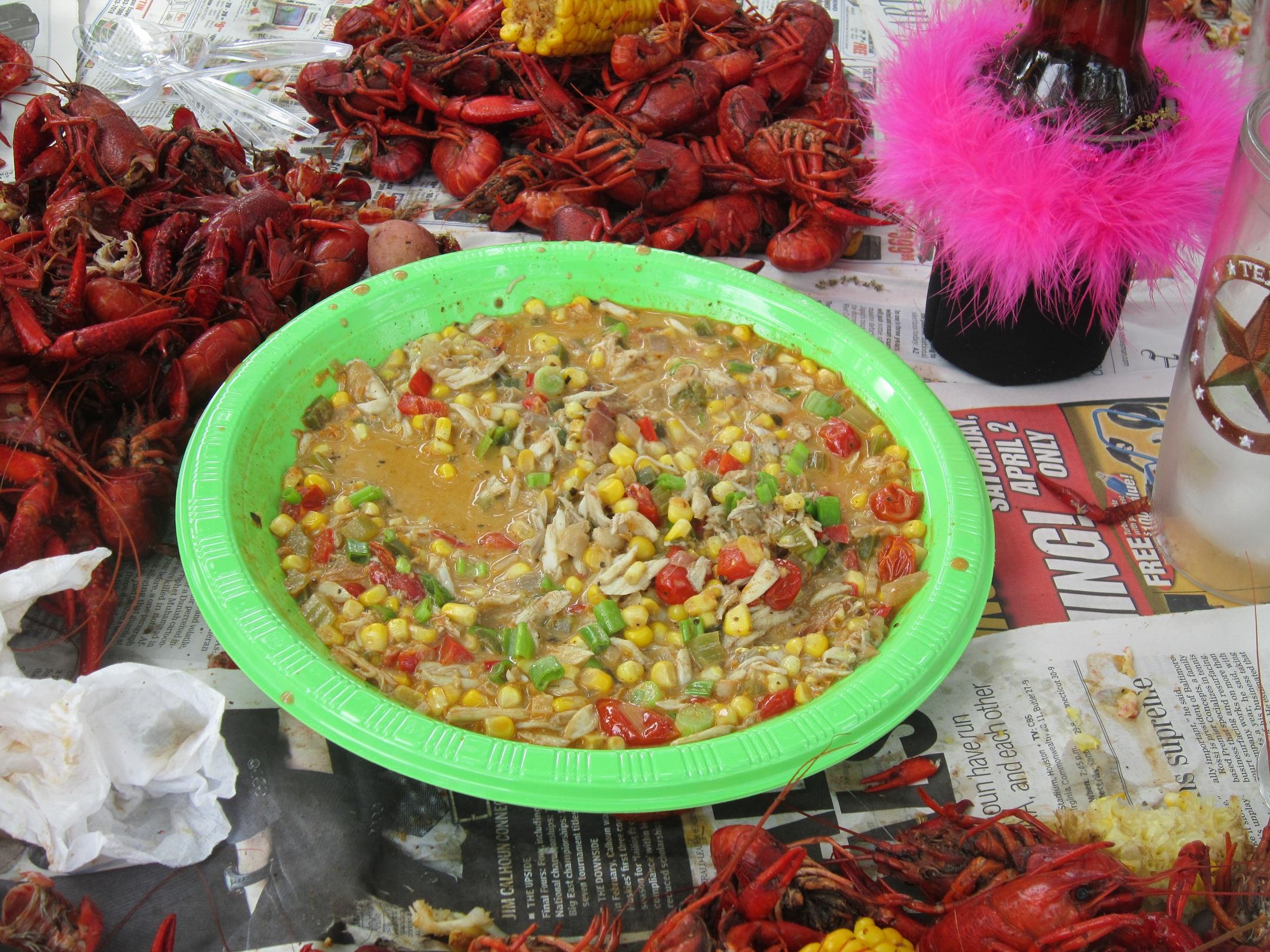 Crab Maque Choux Recipe on Food52