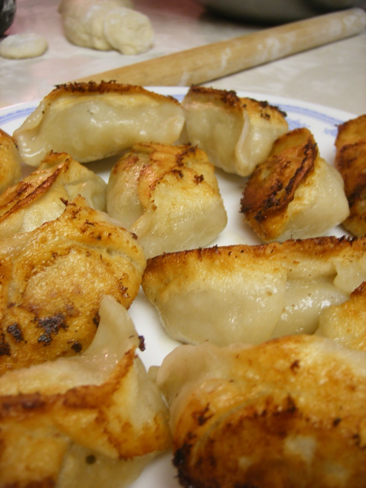 Sweet Potato Pot Stickers