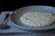Millet with Cheese and Chives