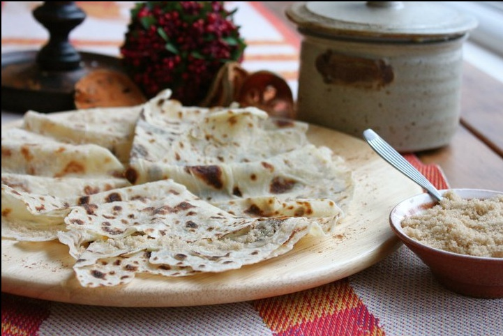 Potato lefse