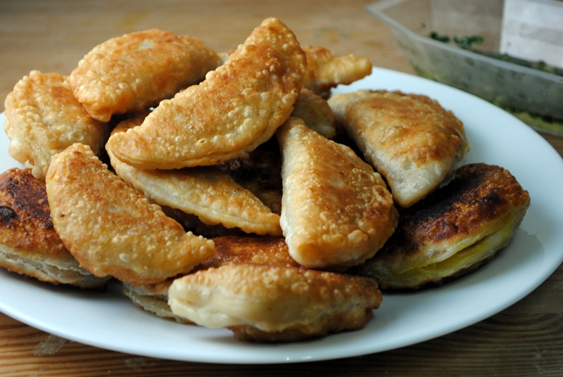 Coconut Curry Puffs