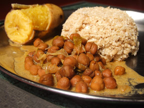 Chickpea Curry (Kadala Curry)