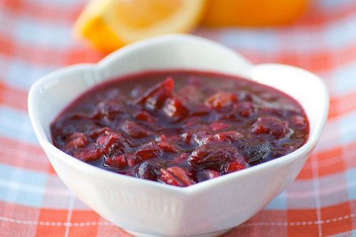 Cranberry, Pineapple, and Walnut Relish