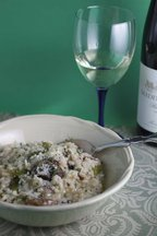 Mushroom_asparagus_risotto