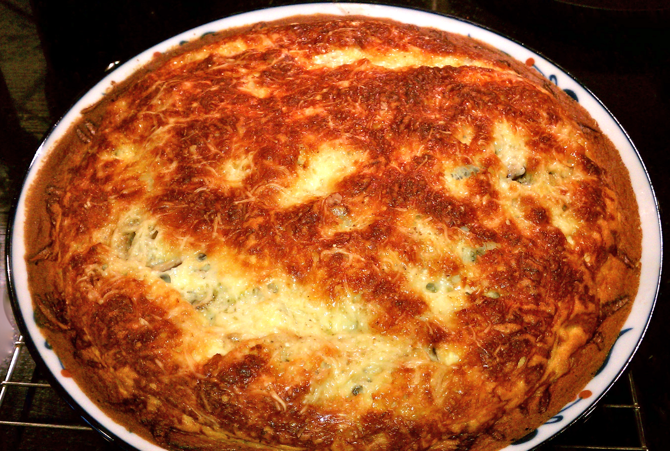 Sherried Mushroom Clafoutis
