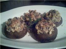 Nuts Stuffed Mushroom