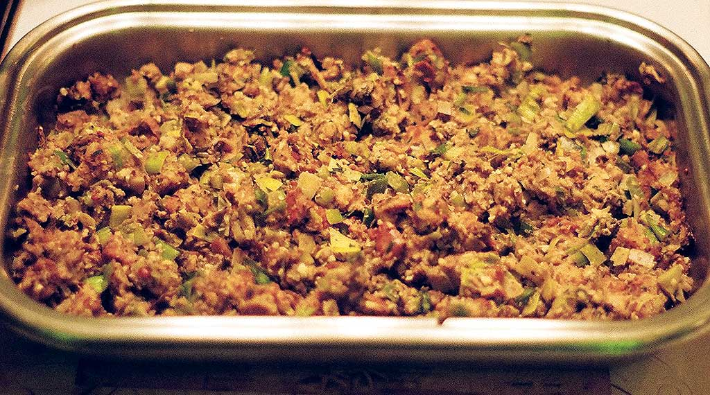 Oyster and Shiitake Mushroom Stuffing
