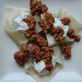 Dumplings by Virginia Bacon