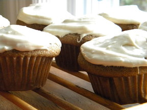 Coffee and Rye Cupcakes