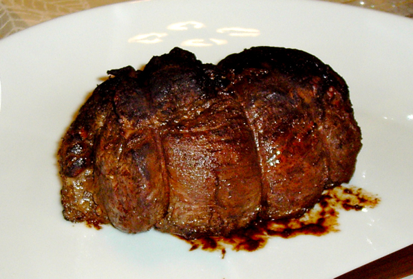 Fillet of Beef with Coffee and Cocoa Rub