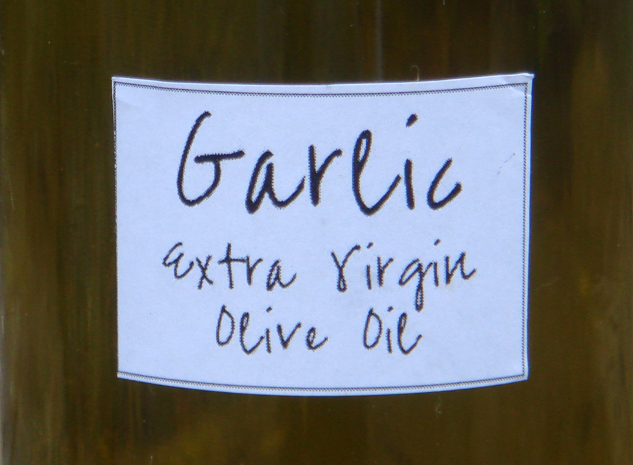 Can't live without you Garlic Infused Olive Oil