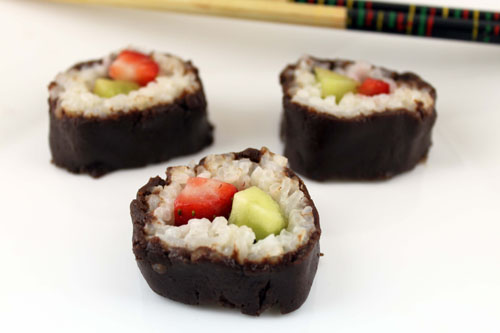 Dessert Sushi
