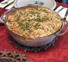 Goat Cheese Macaroni Gratin