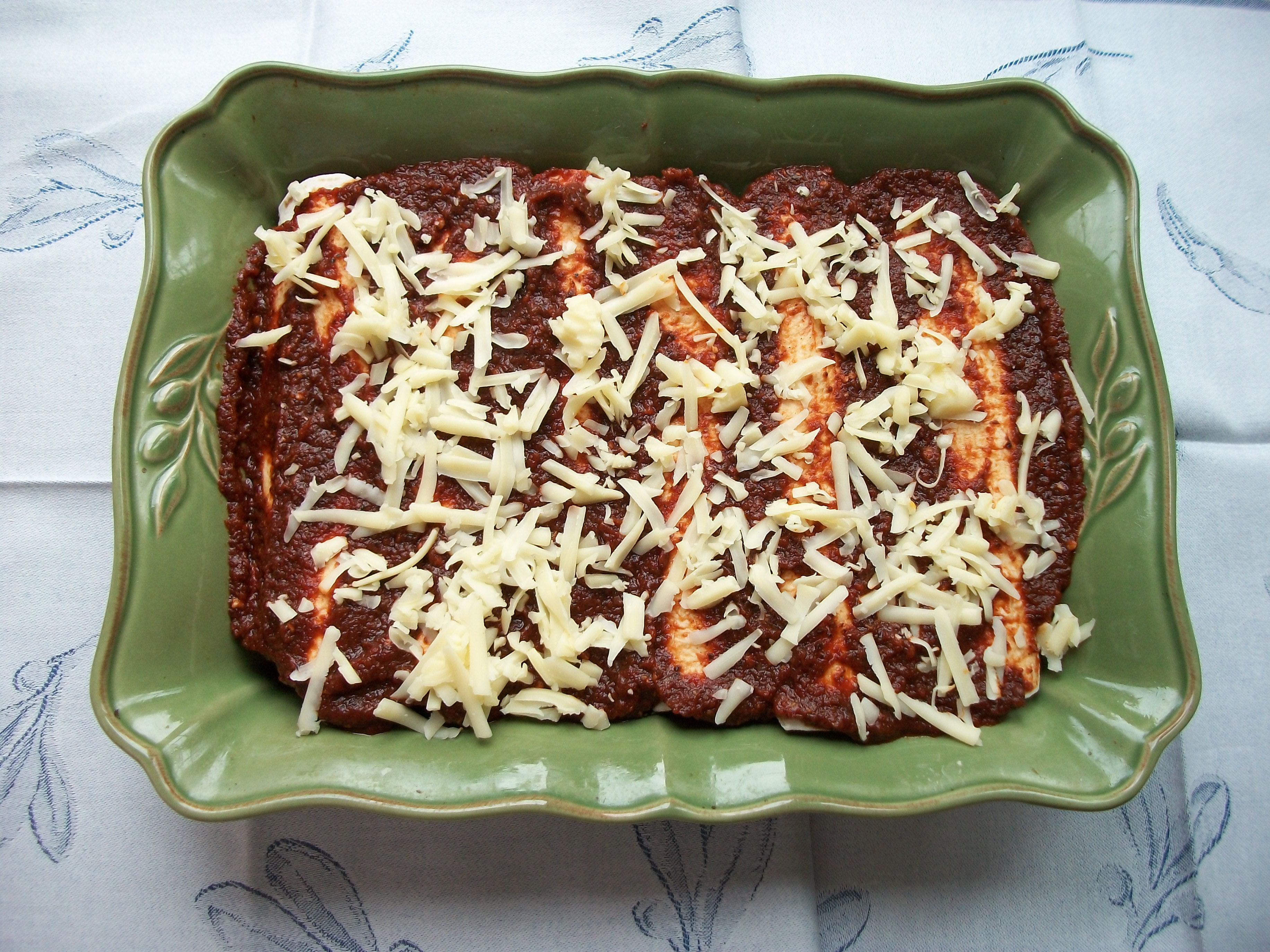 Sweet Potato, Chard, and Mushroom Enchiladas