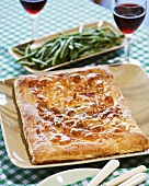 Cabbage and Fennel or Leeks Pie