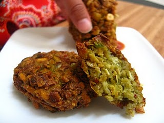 Artichoke Masala Vadai