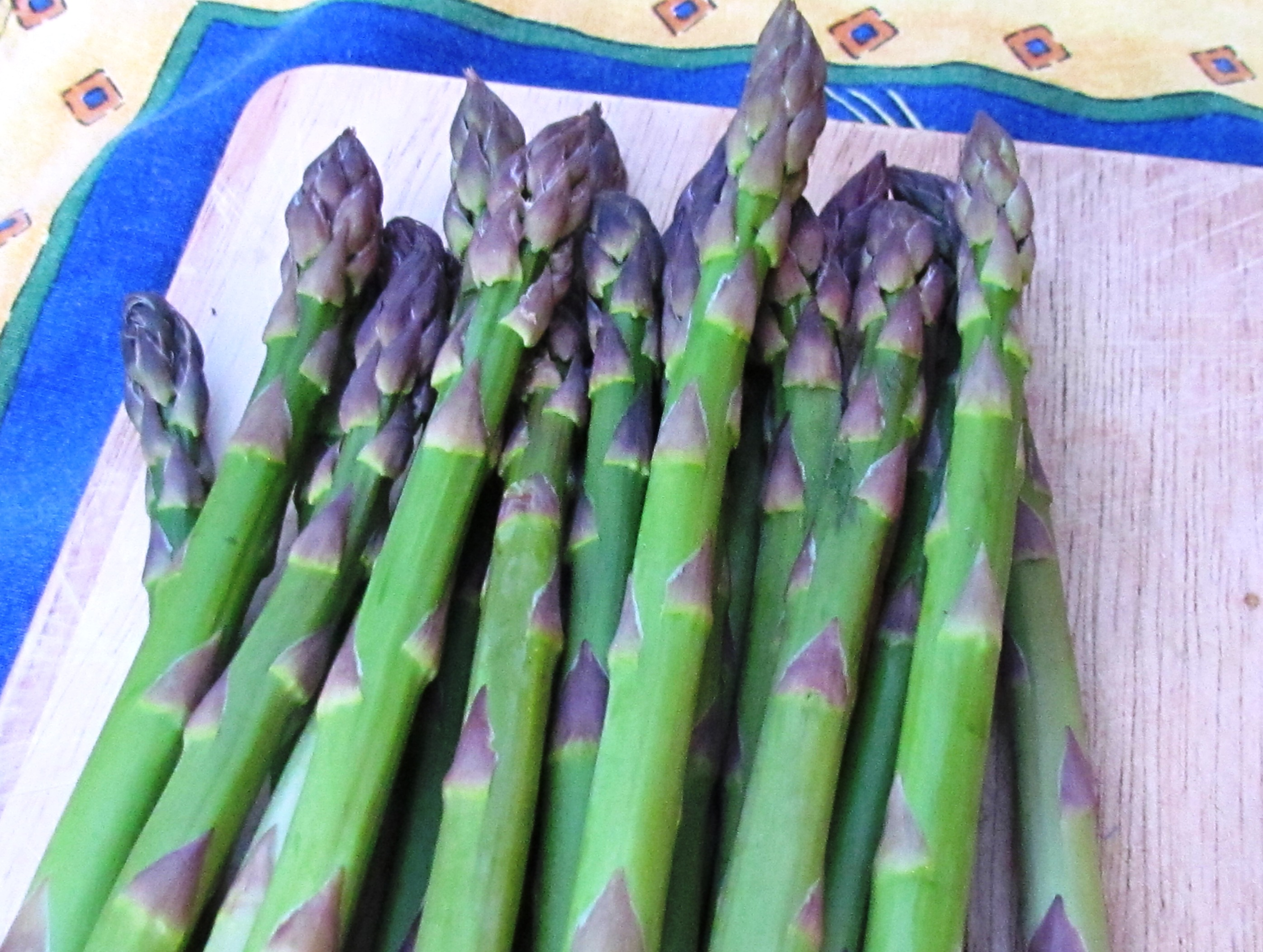 Landmark Asparagus, or How I Learned to Love Green Vegetables