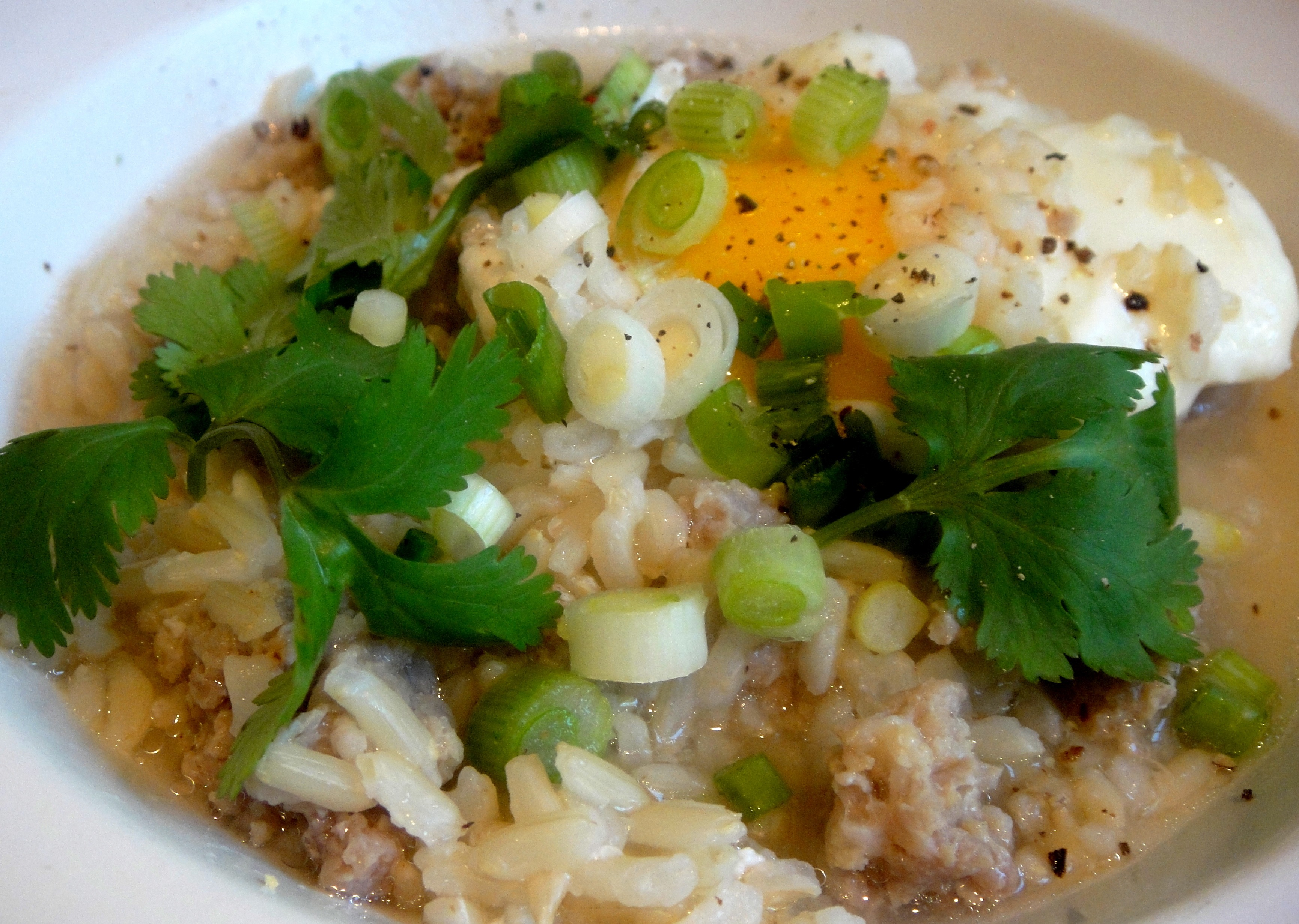 Rice Porridge (Khao Tom)