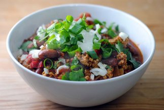 Best Ever Turkey Chili