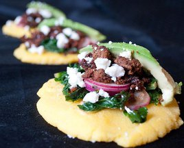 Charcutepalooza: Spring Chorizo Arepas