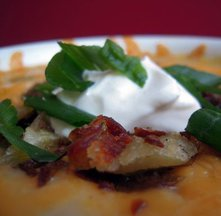 Unambigously Baked Baked Potato Soup