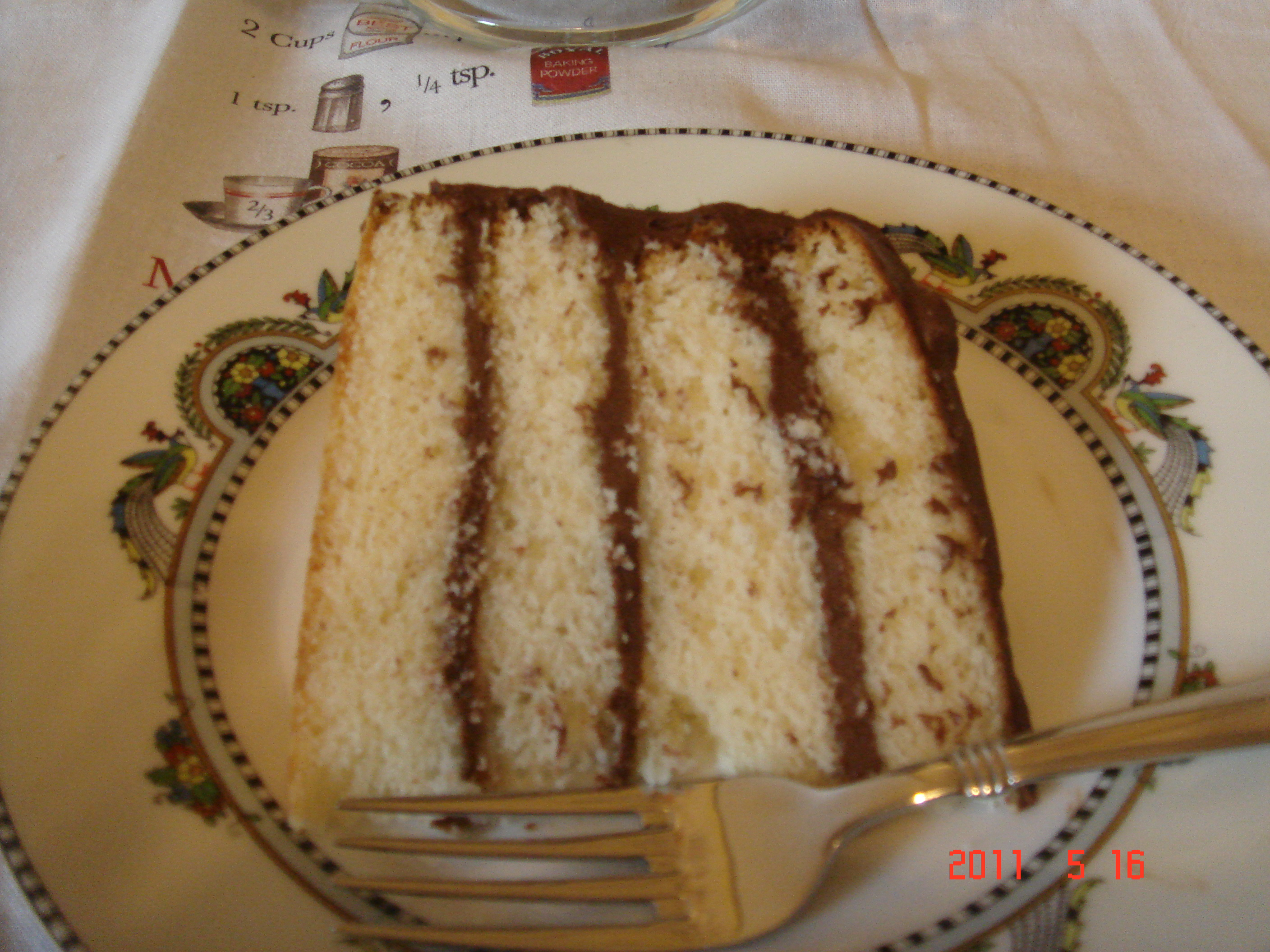 Tender Yellow Cake