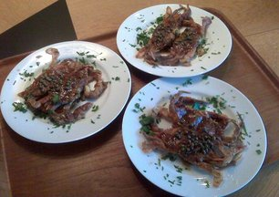 Softshells_with_brown_butter_caper_sauce
