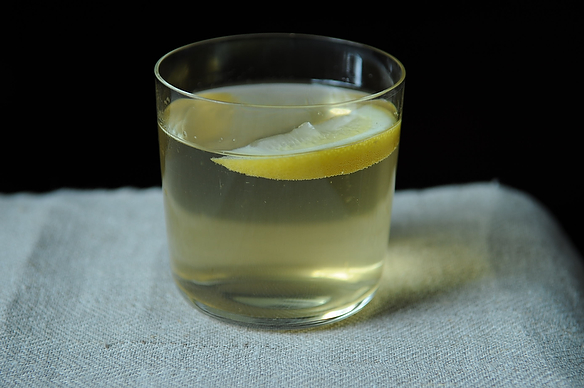 Lemon and Sherry Spritzer