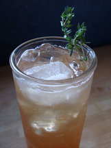 Tea Thyme Soda