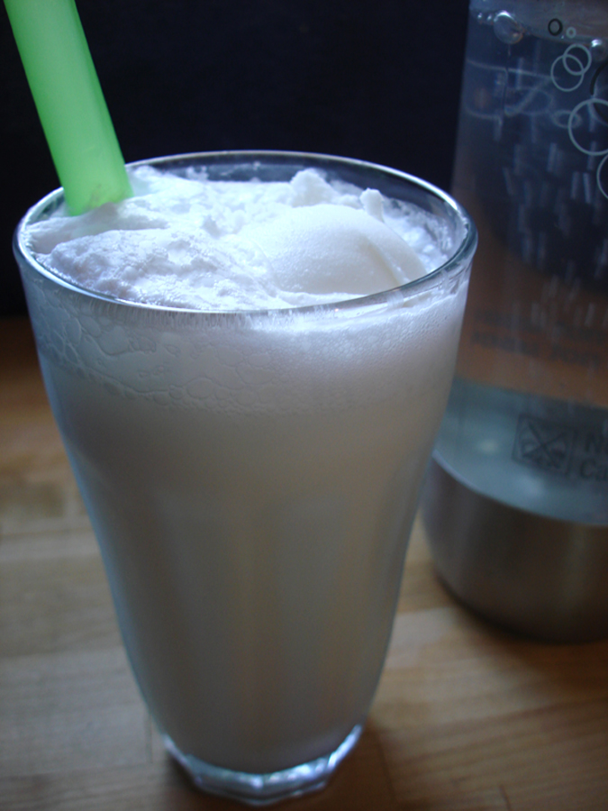 Lime in the Coconut Float