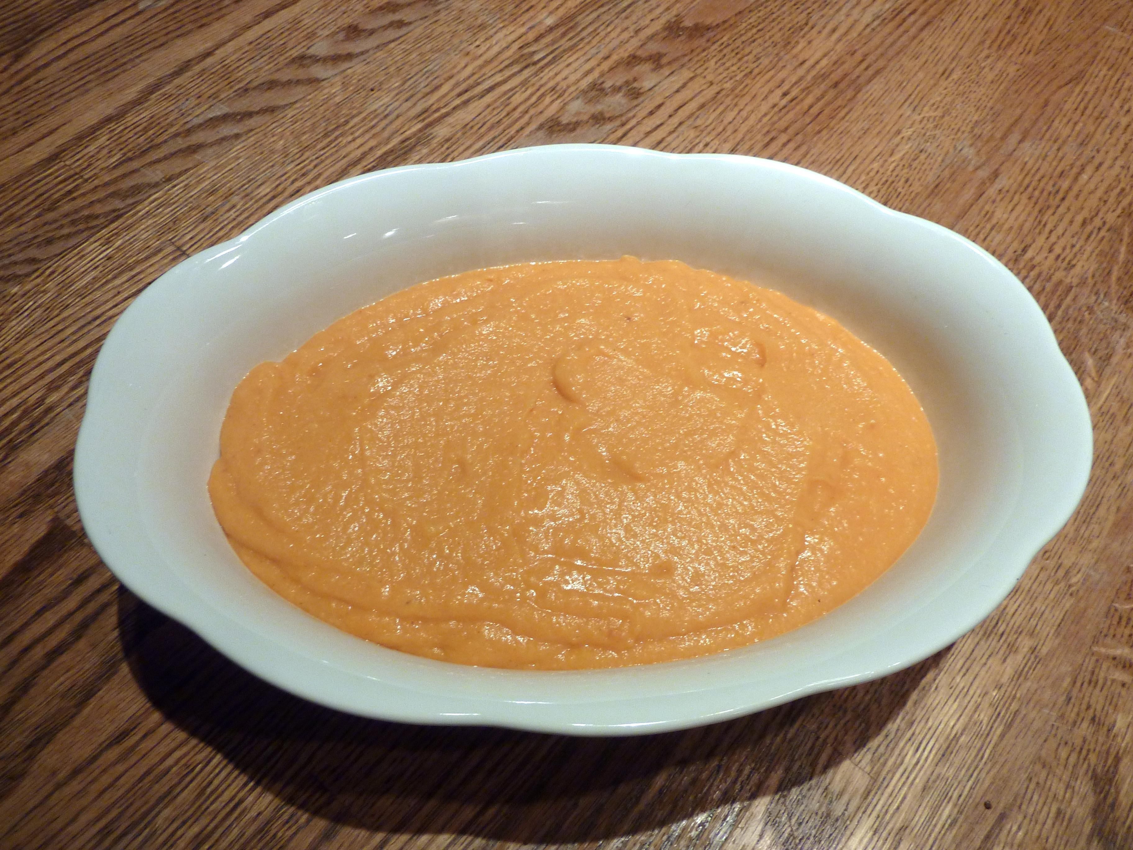 Sweet Potato Apple Citrus Puree