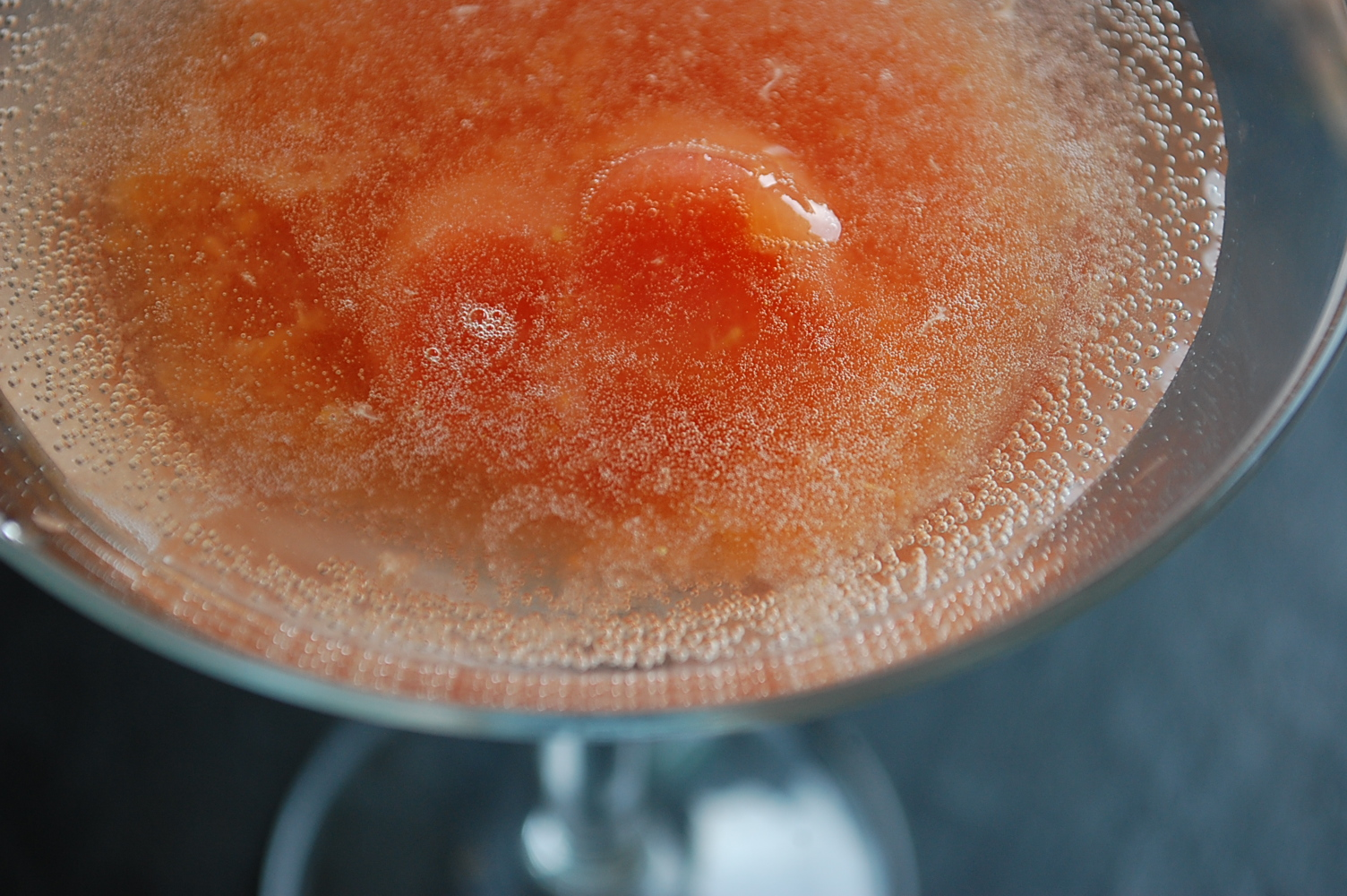 Peach-Orange Bellini