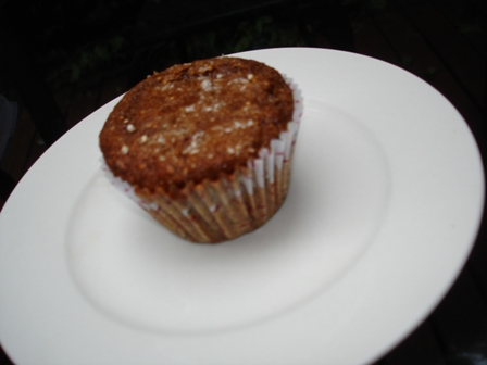Chocolate-Curry Buckwheat Muffins