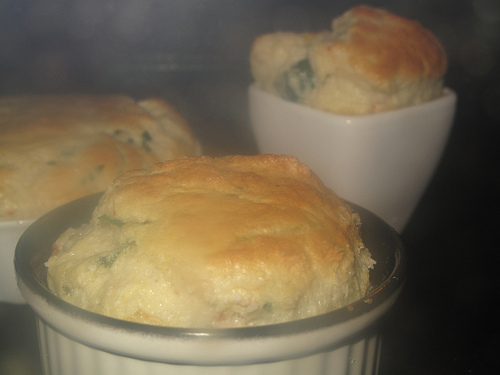 Fish Salpicon Souffle