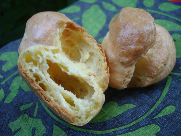 Two Cheese Gougeres
