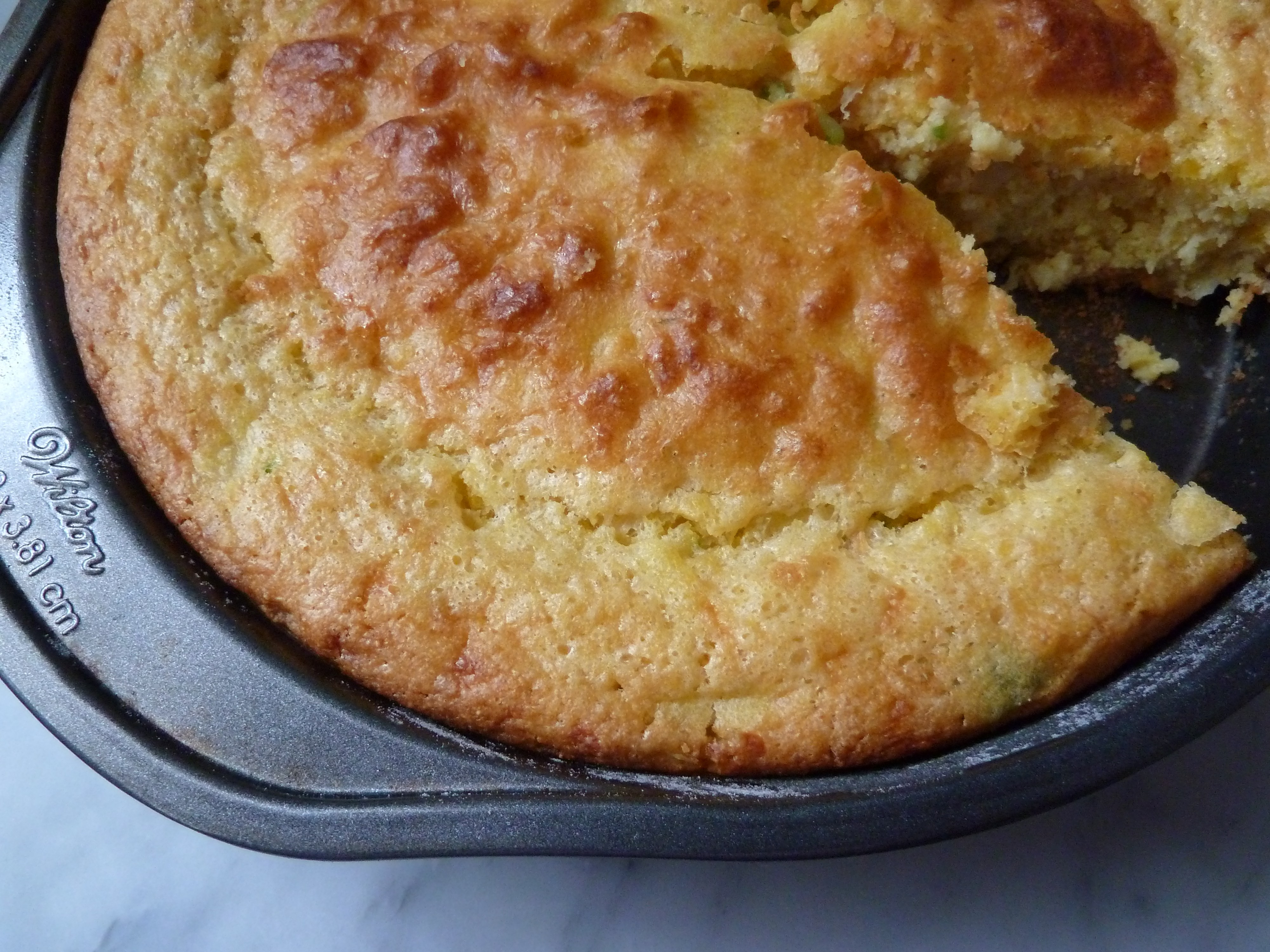 Magically Moist Cornbread