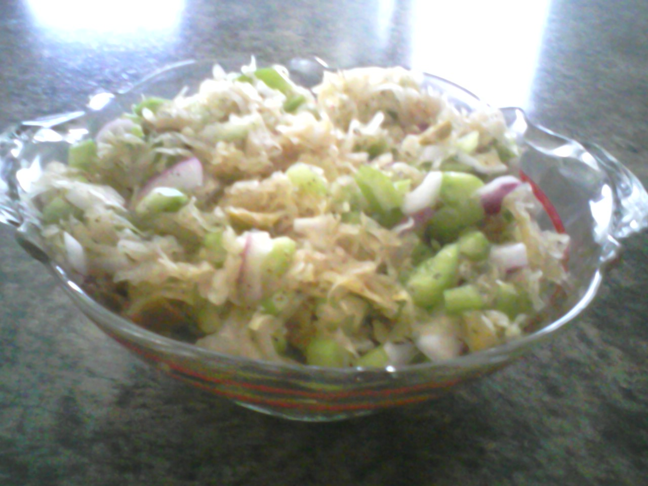 Sauerkraut Salad