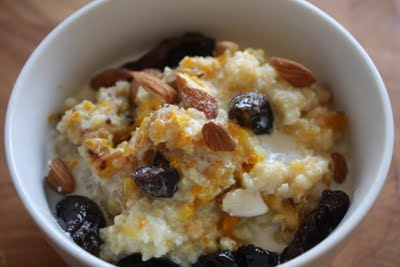 Millet Porridge with Roasted Oranges &amp; Almonds, 3 Ways