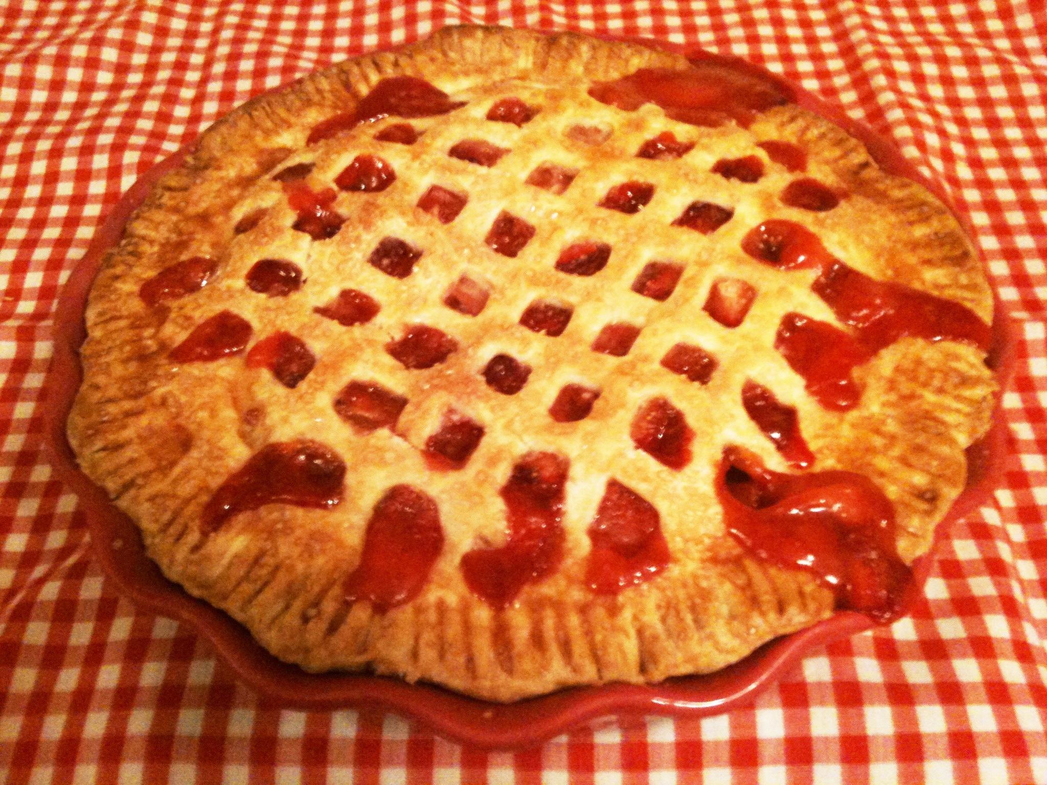 Sweet Strawberry Pie Recipes — Dishmaps