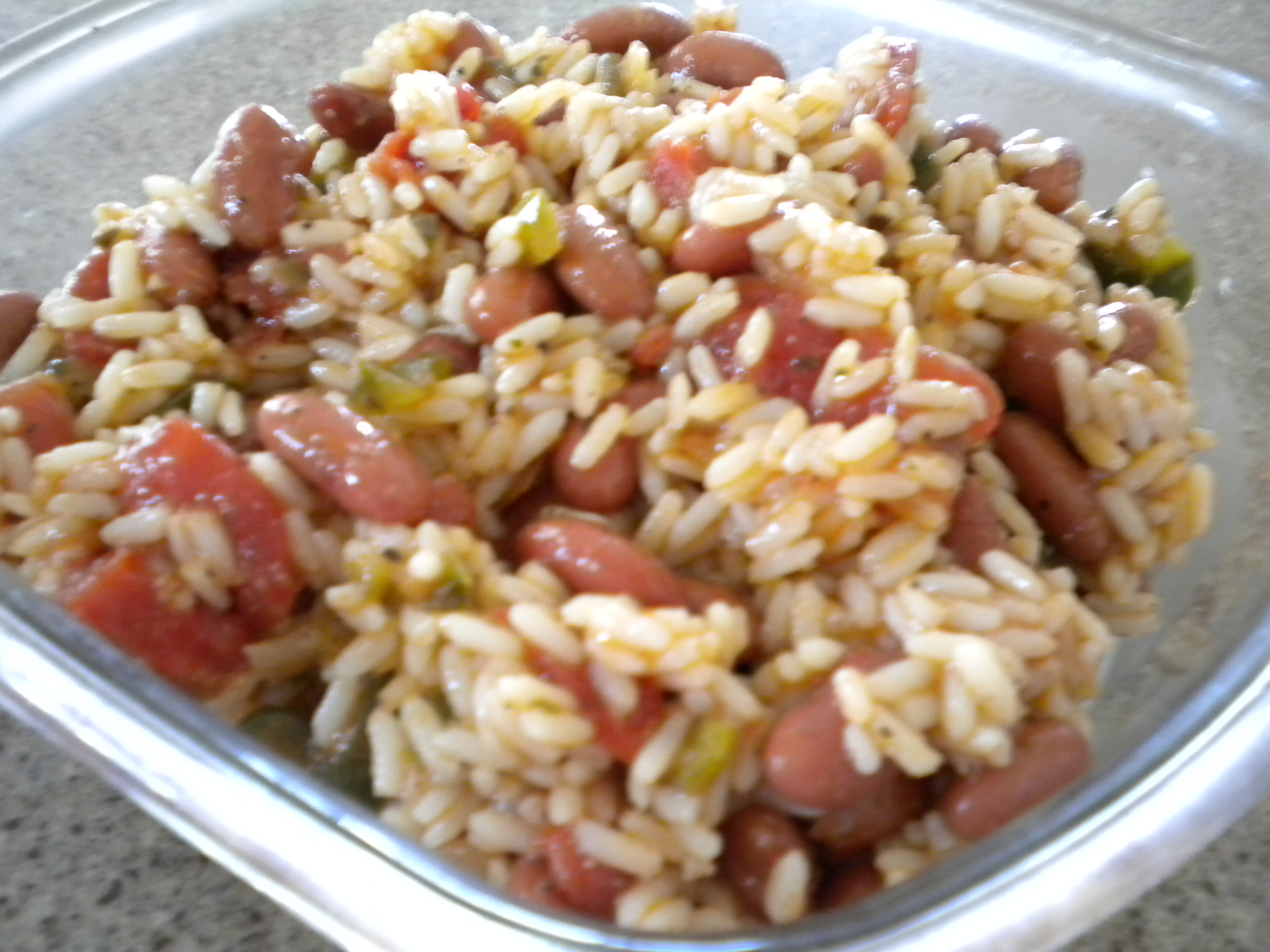 Monday&#x27;s Red Beans and Rice Salad