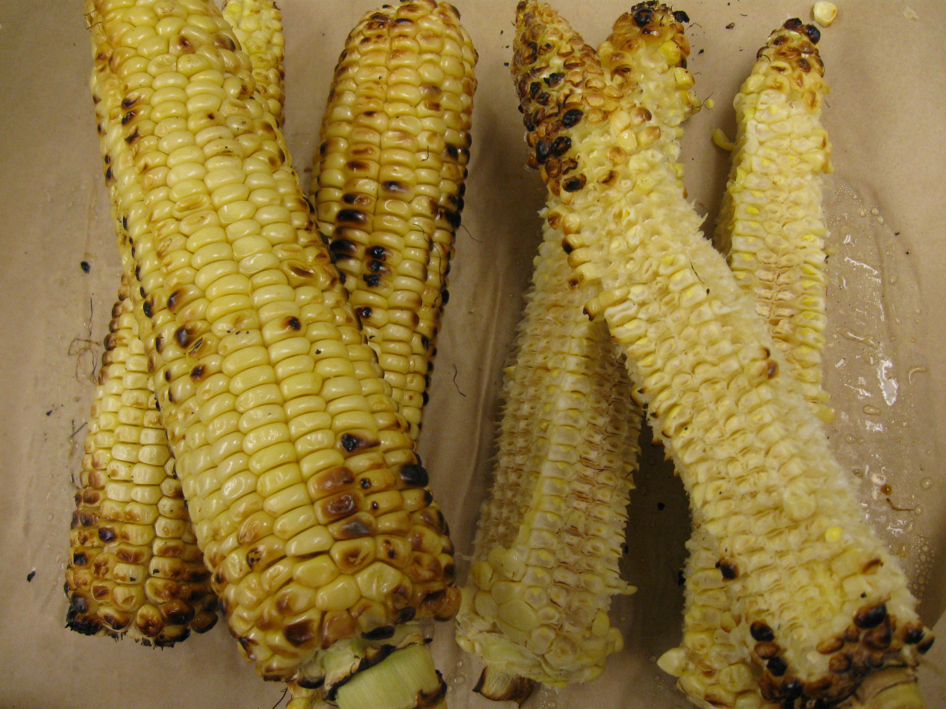 Roasted Corn Stock