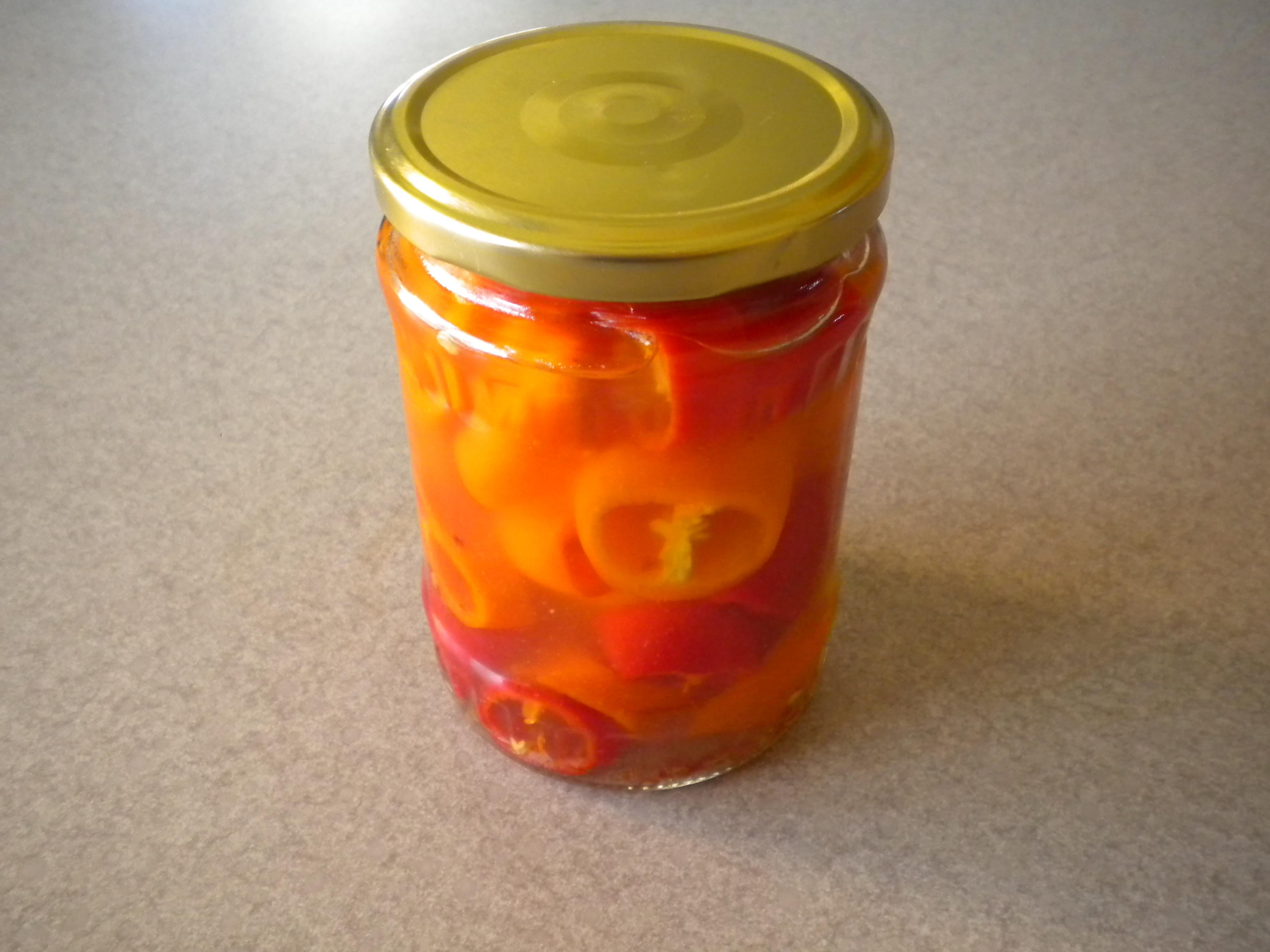 Easy Pickled Peppers